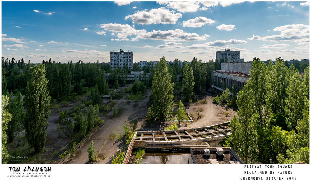 Product blog for Manfrotto. The street bag line in the Chernobyl disaster zone.